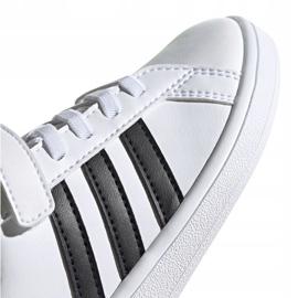 Adidas Grand Court C Jr EF0109 shoes white 3