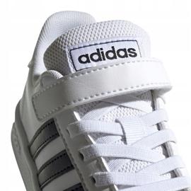 Adidas Grand Court C Jr EF0109 shoes white 4