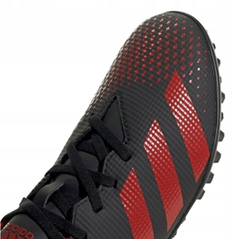 Adidas Predator 20.4 Tf EE9585 football shoes black white 3