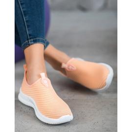 SHELOVET Slip-on Sport Shoes orange 2
