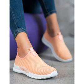 SHELOVET Slip-on Sport Shoes orange 1