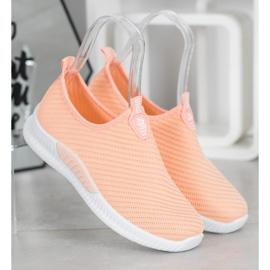 SHELOVET Slip-on Sport Shoes orange 4