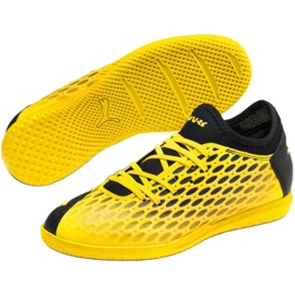 Puma Future 5.4 It Jr 105814 03 football shoes yellow 3