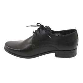 Black First Communion shoes Gregors 429 2