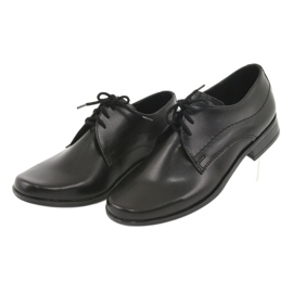 Black First Communion shoes Gregors 429 3