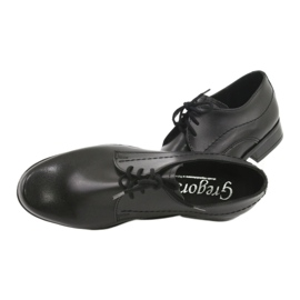 Black First Communion shoes Gregors 429 5