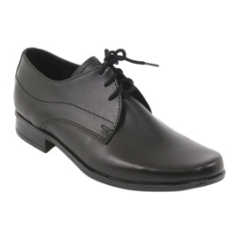 Black First Communion shoes Gregors 429 1
