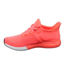 Atletico AT9618 Casual Sport Shoes multicolored orange pink 2