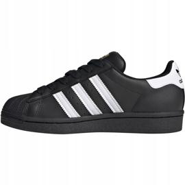 Adidas Superstar J Jr EF5398 shoes black 2