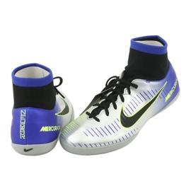 Indoor shoes Nike Mercurial Victory 6 Df Njr Ic Jr 921491-407 silver 4