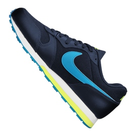 Nike Md Runner 2 Gs Jr 807316-415 shoes navy 2