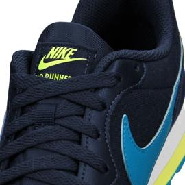 Nike Md Runner 2 Gs Jr 807316-415 shoes navy 3