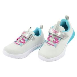 American Club blue ES14 gray sport shoes pink grey 3