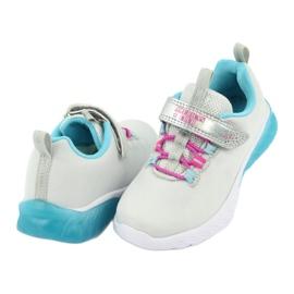 American Club blue ES14 gray sport shoes pink grey 4