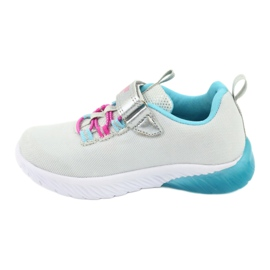 American Club blue ES14 gray sport shoes pink grey 2