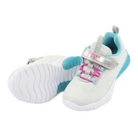American Club blue ES14 gray sport shoes pink grey 5