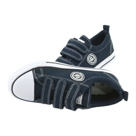 American Club American children's sneakers with Velcro LH33 4