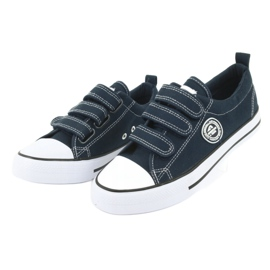 American Club American children's sneakers with Velcro LH33 2