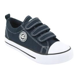 American Club American LH31 navy blue sneakers 1