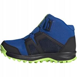 Adidas Terrex Boa Mid R.RD Jr EE8470 shoes blue 2