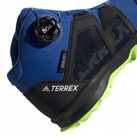 Adidas Terrex Boa Mid R.RD Jr EE8470 shoes blue 4