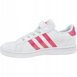 Adidas Grand Court K Jr EG3811 shoes white 1