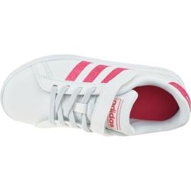 Adidas Grand Court K Jr EG3811 shoes white 2