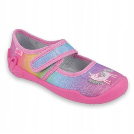 Befado children's shoes 123X048 pink multicolored 1