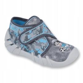 Befado children's shoes 523P014 blue grey multicolored 1