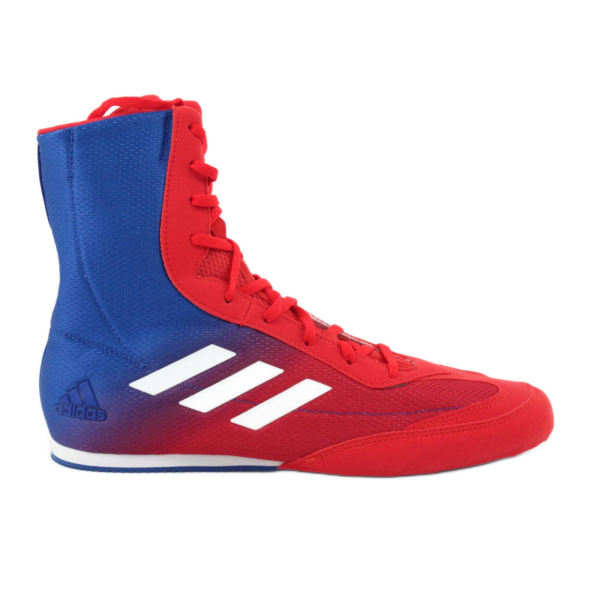 Boxer shoes adidas Box Hog Plus blue-red