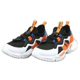 Bartek sports shoes 78219 white black blue orange 3