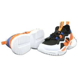 Bartek sports shoes 78219 white black blue orange 5