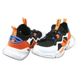 Bartek sports shoes 78219 white black blue orange 4