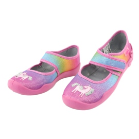 Befado children's shoes 123X048 pink multicolored 3
