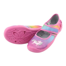 Befado children's shoes 123X048 pink multicolored 4
