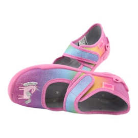 Befado children's shoes 123X048 pink multicolored 5