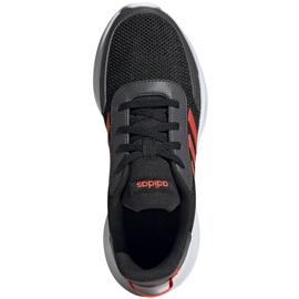 Adidas Tensaur Run K Jr EG4124 shoes black orange 1
