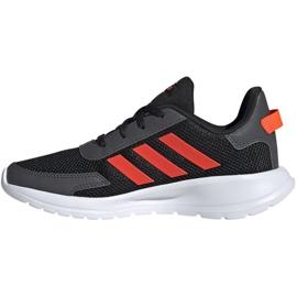 Adidas Tensaur Run K Jr EG4124 shoes black orange 2