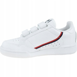 Adidas Continental 80 K EH3222 shoes white 1