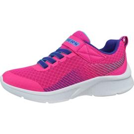 Skechers Microspec K Jr 302016L-PKPR shoes pink 1