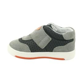Bartek 71141 Velcro sneakers orange grey 2