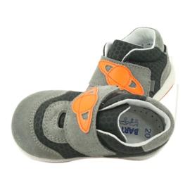 Bartek 71141 Velcro sneakers orange grey 6