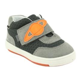 Bartek 71141 Velcro sneakers orange grey 1