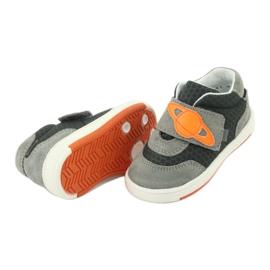 Bartek 71141 Velcro sneakers orange grey 5