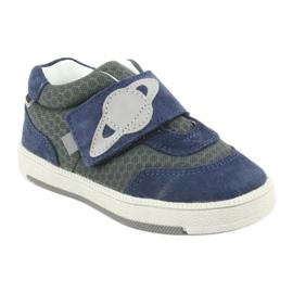 Bartek sports shoes sneakers Velcro 71141 navy grey 1