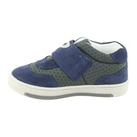 Bartek sports shoes sneakers Velcro 71141 navy grey 2