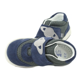 Bartek sports shoes sneakers Velcro 71141 navy grey 6