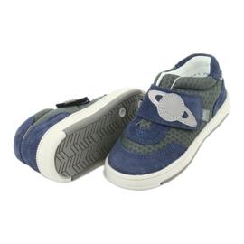 Bartek sports shoes sneakers Velcro 71141 navy grey 5