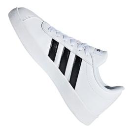 Adidas Vl Court 2.0 Jr DB1831 shoes white 5