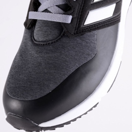 Adidas FortaFaito Jr FV6118 shoes black grey 4